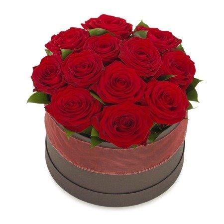 """Flower Box """"Dla Ciebie"""" Róże w pudełku"""