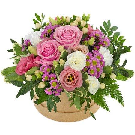 """Flower Box """"Dziękuję"""""""